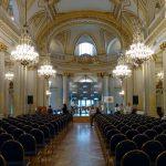"""Salón Dorado de la Legislatura de la Ciudad de Buenos Aires en donde se desarrolló la Jornada de la """"Semana del Síndrome de Williams"""" - Año 2018"""