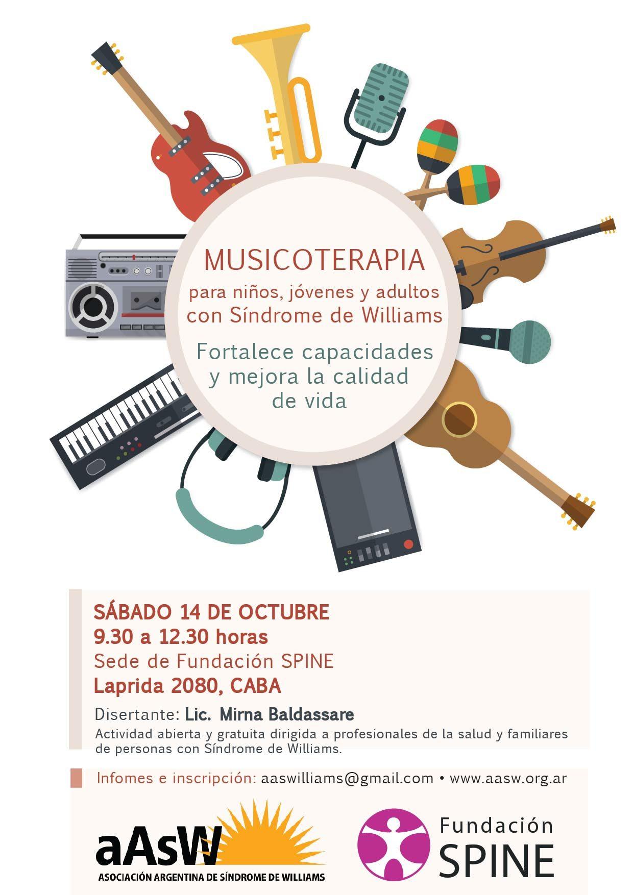 Musicoterapia - Sindrome de Williams